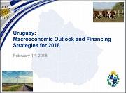 Diapositiva de la presentación, mapa de Uruguay