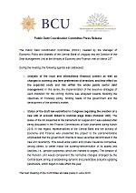 Comunicado CCDP